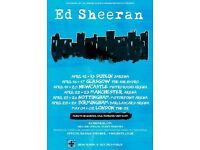 Ed Sheeran Tickets London o2 1st may