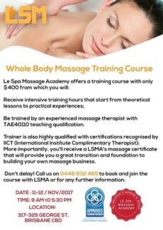 Who Body Massage Course