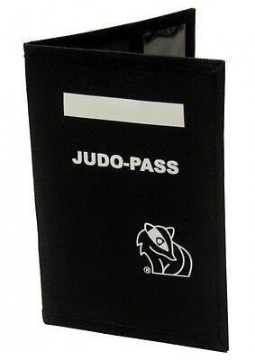 Dax Sports HÜLLE FÜR JUDO-PAß, Schwarz. Hülle für Judo Pass. Wettkämpfe.
