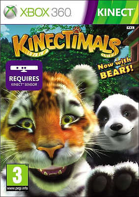 Kinectimals now with Bears~ XBox 360 Kinect Game (in Great Condition) for sale  Shipping to Ireland