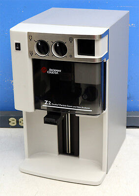 Beckman-coulter Z2 Coulter Particle Count Counter And Size Analyzer