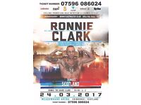 Ronnie Clark Boxing Tickets