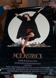 MOONSTRUCK  CHER AND NICK CAGE