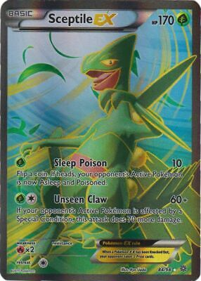 Pokemon - Sceptile-EX (Full Art) - 84/98 - XY Ancient Origins - Ultra Rare