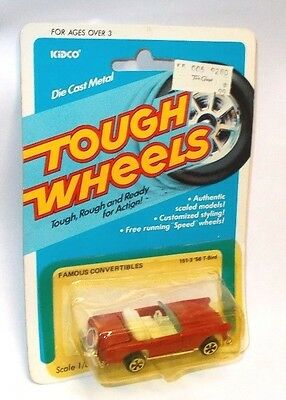 Vintage Kidco Die-Cast Tough Wheels Famous Convertibles `56 T-Bird, MOC