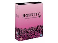 Sex and the city box set/Fat friends box set