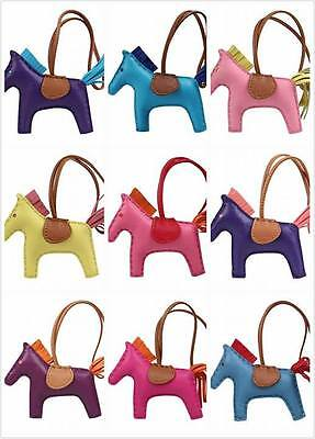 Real genuine leather Rodeo Horse Pony bag charm,perfect for hermes Birkin anybag