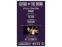 Group Guitar Classes at The Brink - Beginners, Intermediates and Advanced (1½ hours for £5)