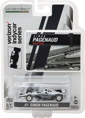 Greenlight 1 64 2017 Indy Race Car  1 Simon Pagenaud Dxc Technology 10796