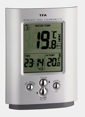 WATERCHECKER SCHWIMMBADTHERMOMETER KABELSONDE POOL-THERMOMETER TEICHTHERMOMETER