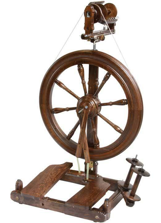 Kromski Sonata Walnut Spinning Wheel FREE Shipping Special OCT  Bonus