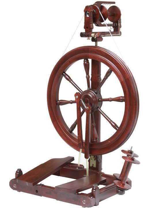 Kromski Sonata Mahogany Spinning Wheel FREE Shipping Special Bonus