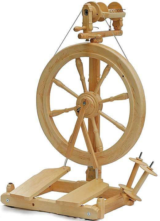 Kromski Sonata Unfinished Spinning Wheel FREE Shipping Special Bonus