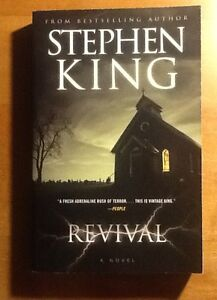 Stephen King novel - Revival (mint)