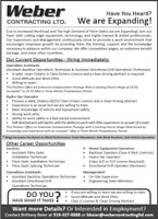 Directional Drill Operator