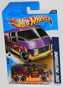 Hot Wheels 1/64 GMC Motorhome Diecast Car