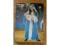 Nativity Mother Mary costume, age 8-10 years