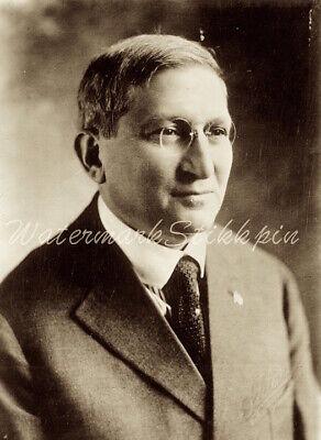 1920s era photo Glass Negative Leader Cyrus Adler US Jewish Historical Society