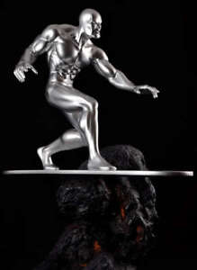 SILVER SURFER STATUE HARD HERO  12 in High