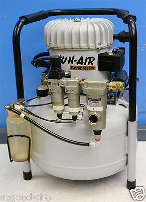 Jun-air Model 6 6-25 25 Liter 6.6 Gallon Compressor