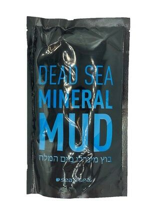 Dead Sea Mineral Black Mud 100% Natural 600gr by SEA OF SPA