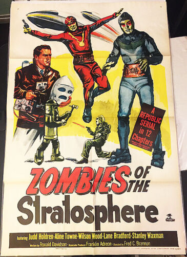 ZOMBIES OF THE STRATOSPHERE!