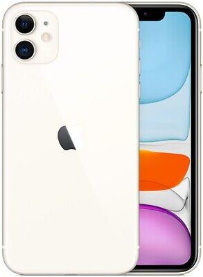 Apple iPhone 11 128GB ITALIA White Bianco LTE NUOVO Originale Smartphone iOS 13