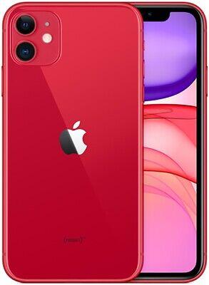 Apple iPhone 11 128GB ITALIA Red Rosso LTE NUOVO Originale Smartphone iOS 13
