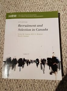 Recruitment & Selection in Canada: Fifth Edition