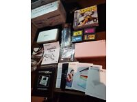 Pink Nintendo DS Console With Games Gameboy Advance