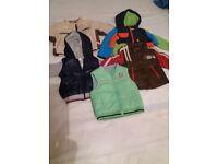 Bundle of Boys Jackets size 12-18 mths (5 items)