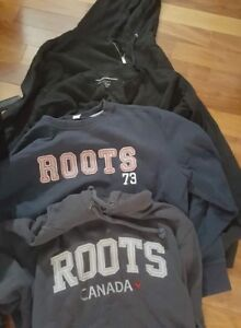 Over 100 Man's clothing Items, Buffalo, Roots, Tilly and more