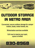 OUTDOOR STORAGE IN METRO 830-4009
