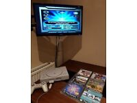 PS1 Original Retro Console With Games Playstation One With Controller Who Wants To Be A Millionaire