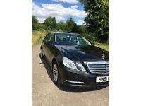 Mercedes E220 black blue efficiency many extras auto 7G tronic paddle shift,new tyres,discs etc