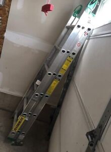 Brand New 40' Featherlite Ladder (3 Sections)  $180