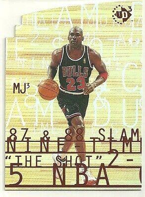 1997-98 Upper Deck UD3 #MJ3-1 Michael Jordan BULLS
