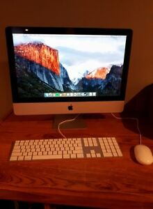 iMac computer with mouse and keyboard for sale!