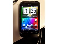 HTC Wildfire s A510e Mobile Phone with 8GB SD card