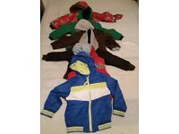 Bundle of Boys Jackets size 2-3 years (7 items)