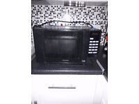 microwave oven - black
