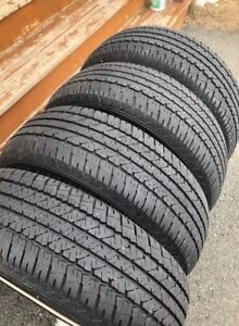 Set of 15 Inch All Season Tires Size 215/70R15