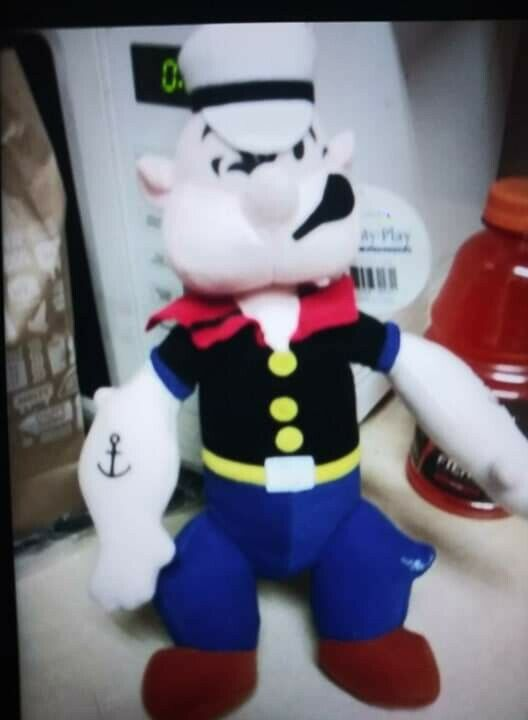 1980s Popeye Collectable Doll