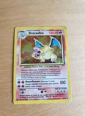 Pokemon dracaufeu set de base francais 4/102