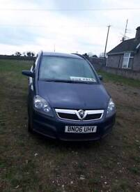 Vauxhall zafira for sale diesel