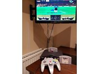 Nintendo 64 Console With Controller And Games N64 Switch Wii Xbox One PS4