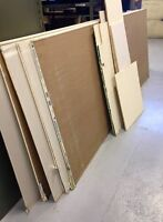 6 x GYPSE 4 x 10' $15 ch. VSL DRYWALL 4 x 10 $15 ea, only 6 left