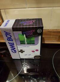 New Sealed Retro Nintendo Gameboy Money Tin