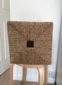Selection of Cane Wicker Baskets - As New