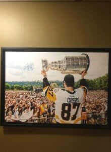 Sidney Crosby signed Canvas